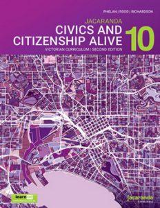 Jacaranda Civics and Citizenship Alive 10 VC 2E
