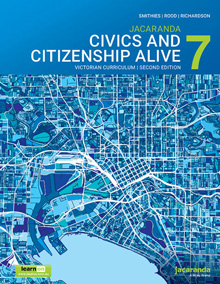 Jacaranda Civics and Citizenship Alive 7 VC 2E