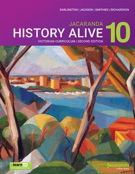 Jacaranda History Alive 10 VC 2E