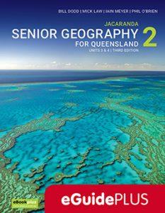 Jacaranda Senior Geography Qld 2 3E_EG Cover