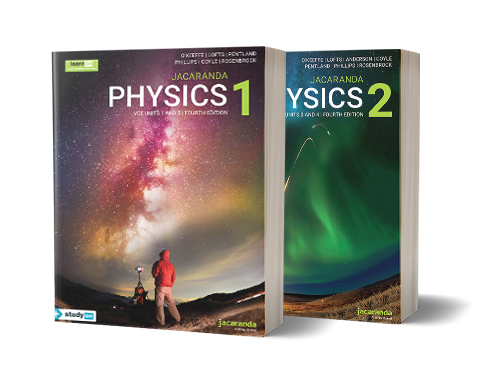 Jacaranda VCE Physics 4e series books