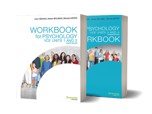 Jacaranda VCE Psych Workbooks updated cover