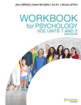 Jacaranda Workbook for Psychology VCE Units 1 and 2 8E