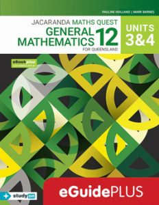 Jacaranda General Maths 12 for Queensland Units 3 & 4 eGuidePLUS