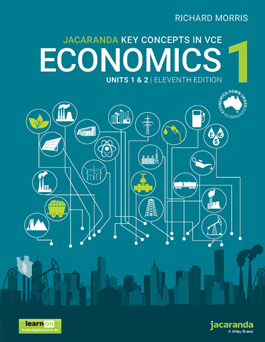 Jacaranda Key Concepts in Economics 1 Units 1 & 2, 11th Edition