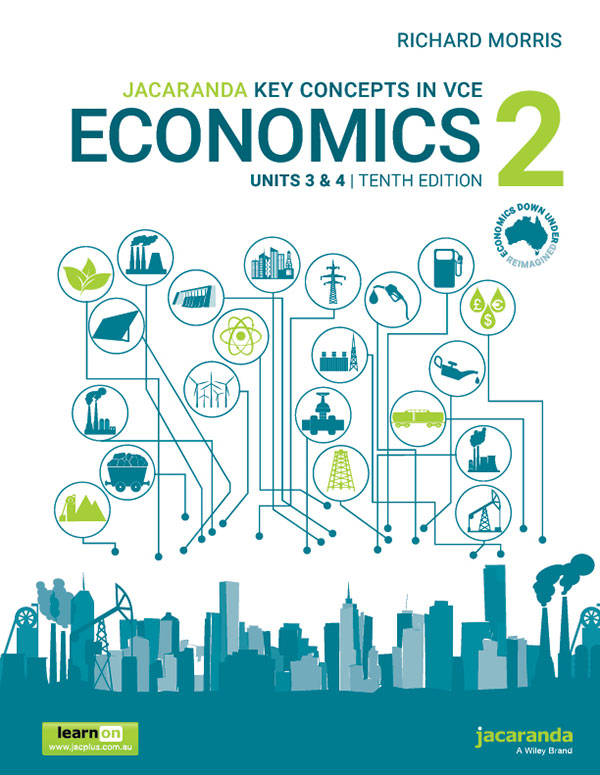 Jacaranda Key Concepts in VCE Economics 2 Units 3 and 4, 10th Edition