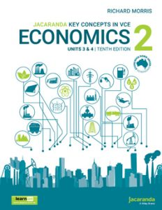 Jacaranda Key Concepts in Economics 2 Units 3 & 4, 10th Edition