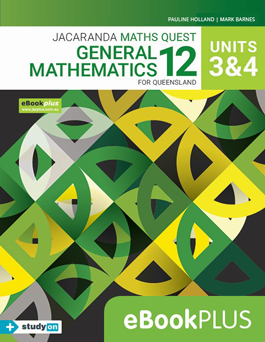 Jacaranda General Maths 12 for Queensland Units 3 & 4 eBookPLUS