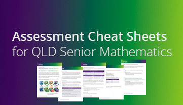 Jacaranda qld senior maths cheat sheets