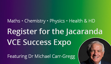 Jacaranda vce success expo