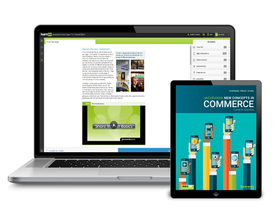 Jacaranda New Concepts in Commerce devices
