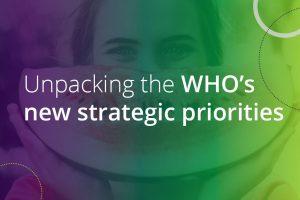 unpacking the who's new strategic priorities