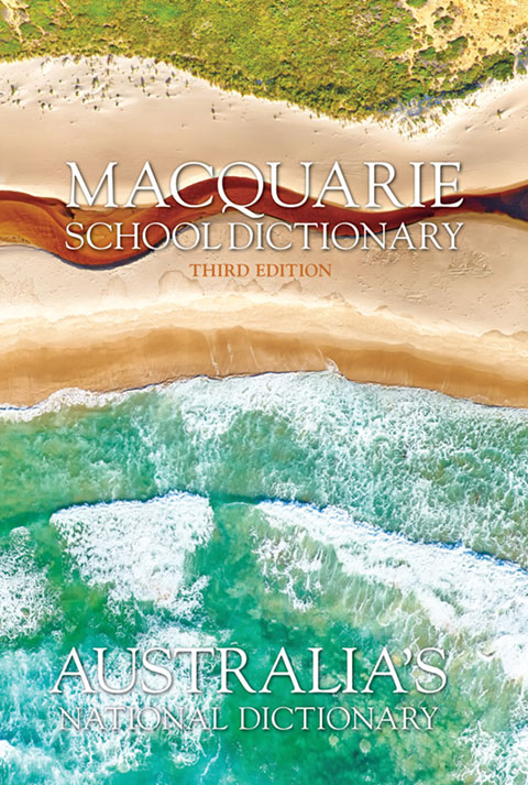 Macquire School Dictionary 3e cover