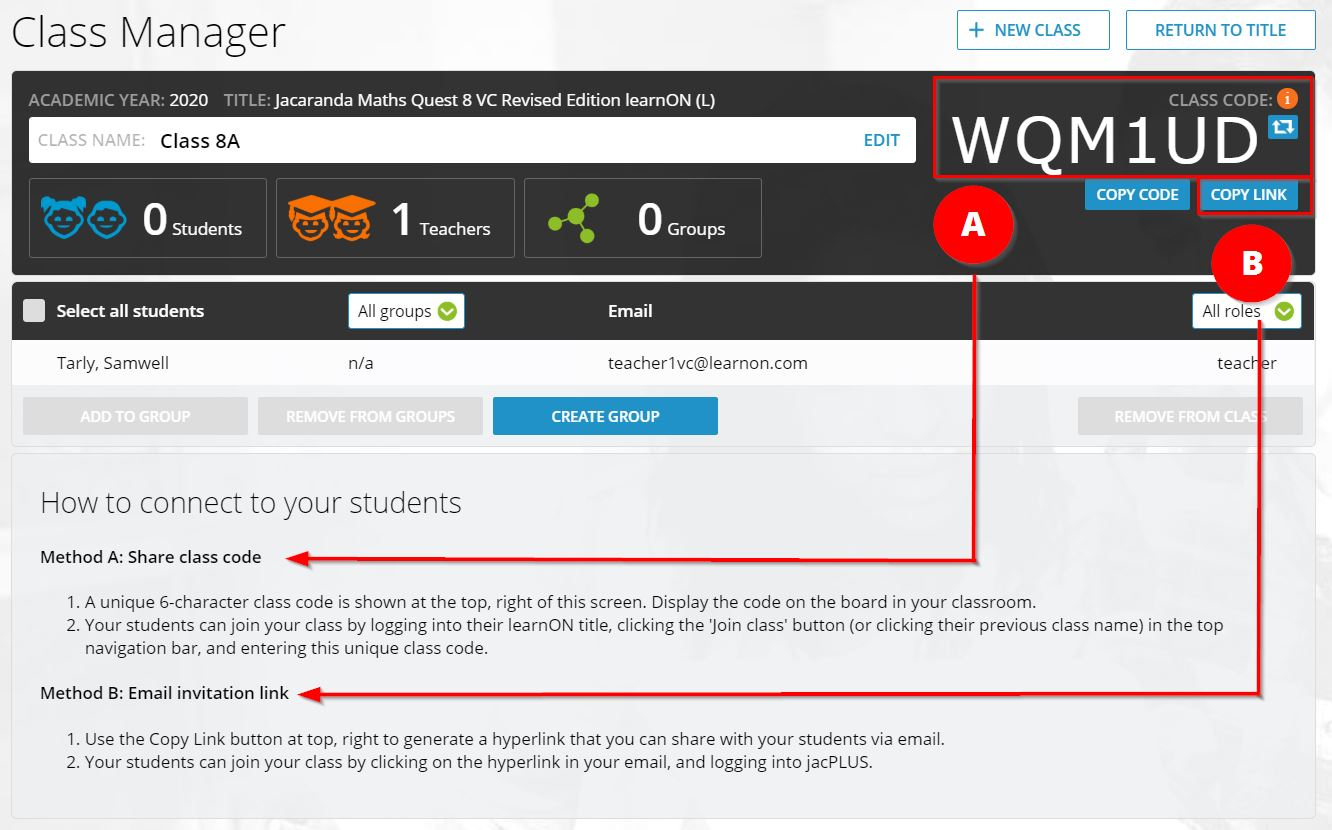 4 steps to connect with your students in learnON step 3