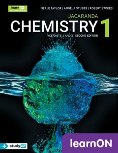 Jacaranda Chemistry 1 VCE Units 1&2 learnON