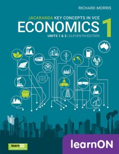 Jacaranda Key Concepts in Economics 1 Units 1 & 2, 11th Edition learnON