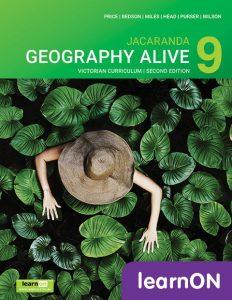 Jacaranda Geography Alive 9 VC 2E learnON