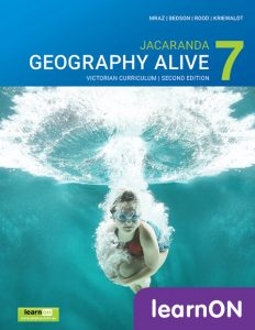 Jacaranda Geography Alive 7 VC 2E learnON