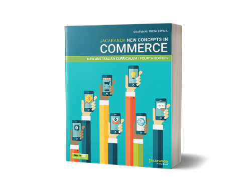 Jacaranda New Concepts in Commerce 4E book