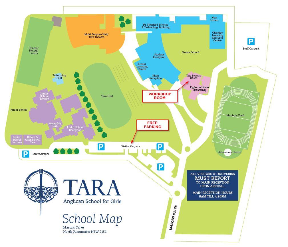 Tara Anglican School for Girls map