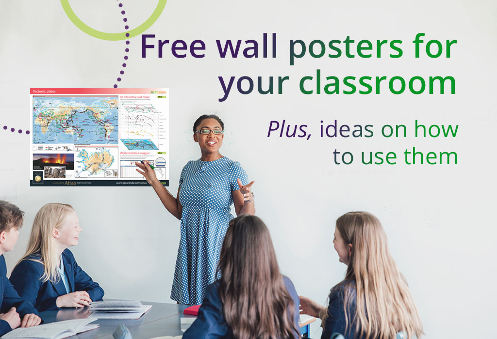 free wallposters for your classroom plus ideas on how to use them