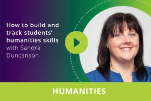 How to build and track students' humanities skills webinar thumbnail