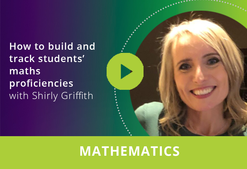 How to build and track students' maths proficiencies webinar thumbnail