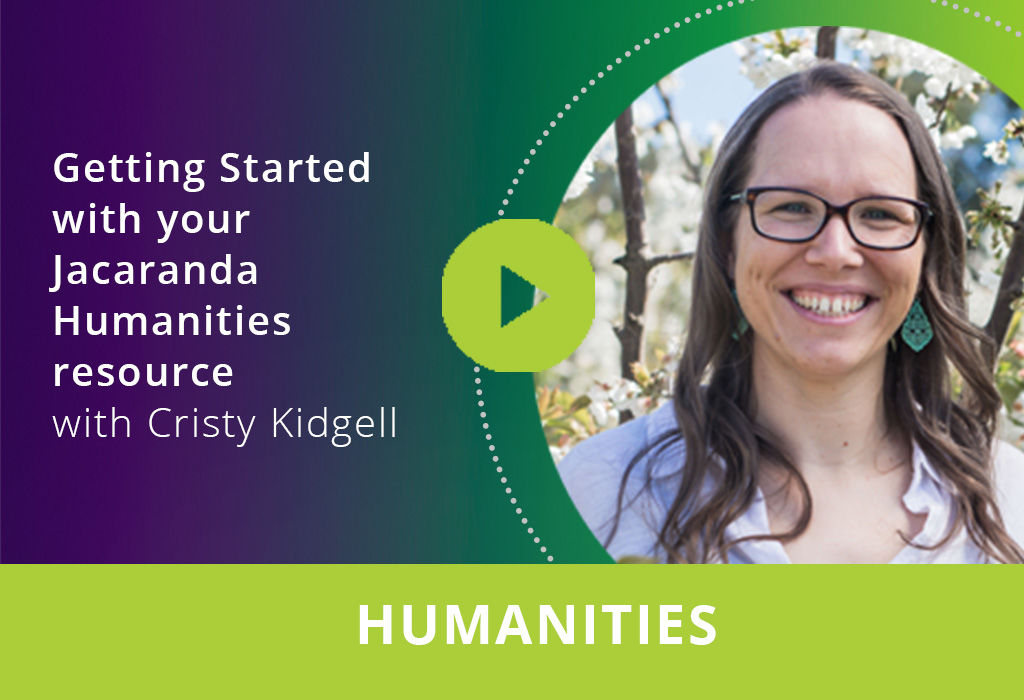 Getting started with your Jacaranda Humanities resource webinar thumbnail