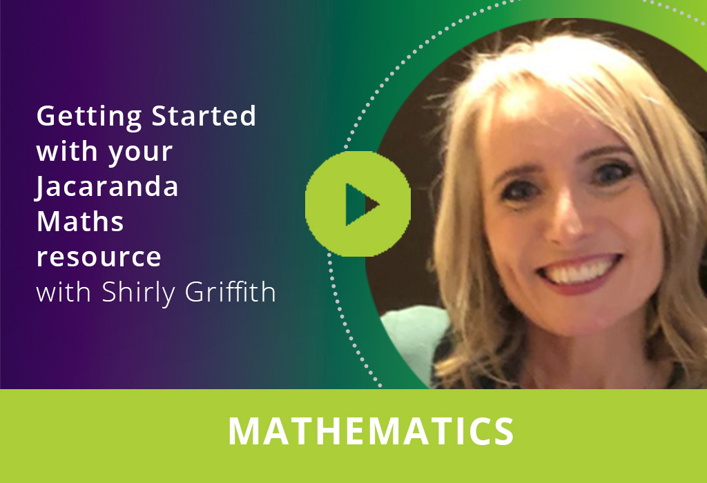 Getting started with your Jacaranda Maths resources webinar thumbnail