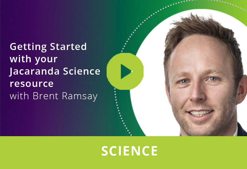 Getting started with your Jacaranda Science resource webinar thumbnail