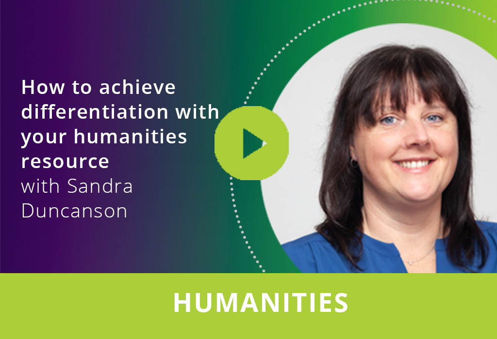 How to achieve differentiation with your humanities resource webinar thumbnail