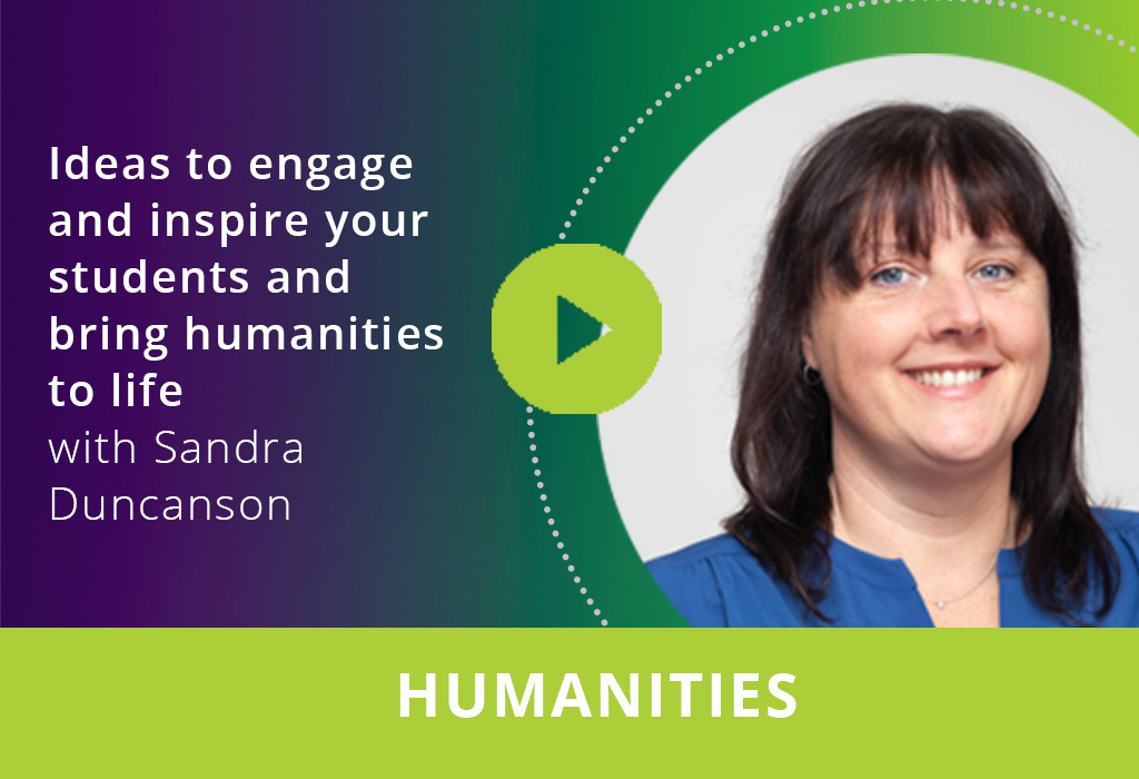 Ideas to engage and inspire your students and bring humanities to life webinar thumbnail