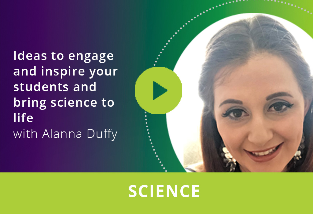 Ideas to engage and inspire your students and bring science to life webinar thumbnail