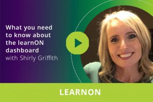 What you need to know about your learnON dashboard webinar thumbnail