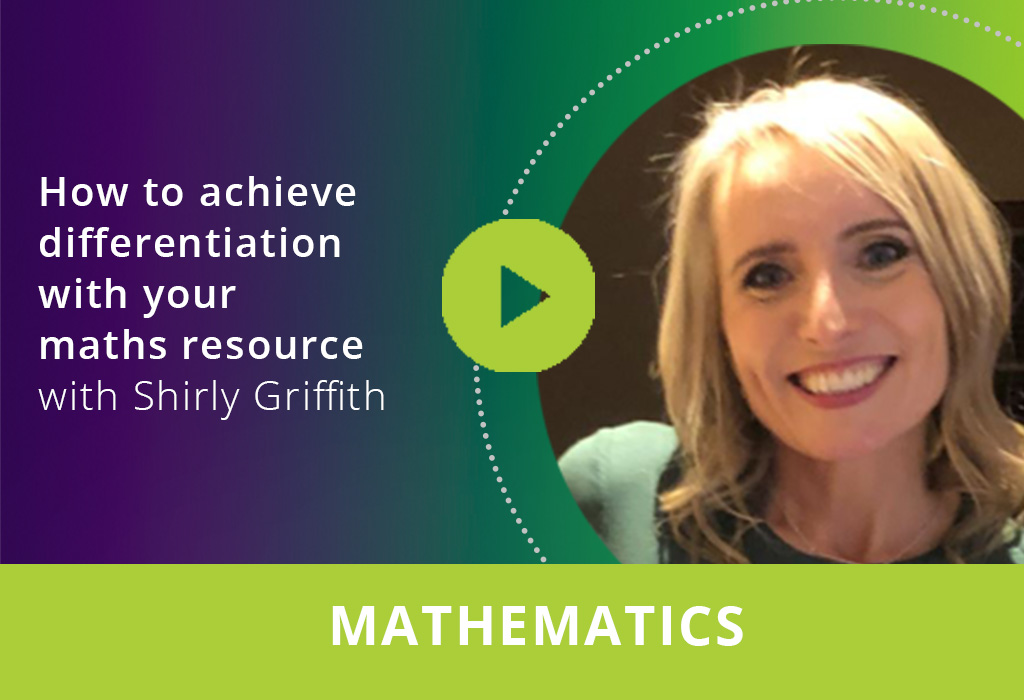 How to achieve maths differentiation with your maths resource webinar thumbnail