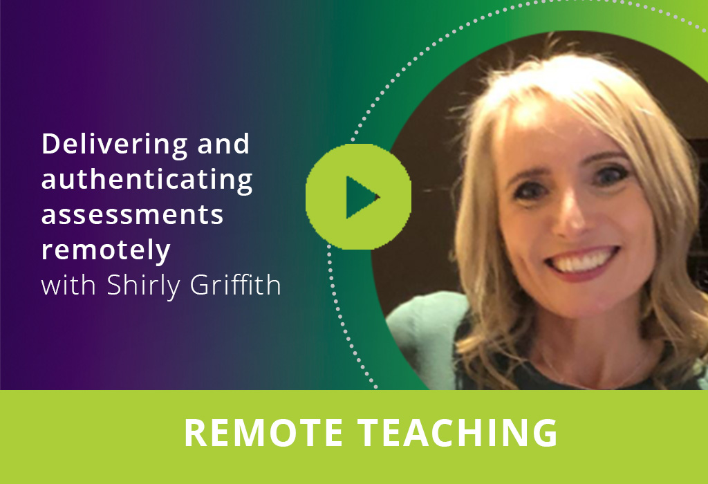 Delivering and authenticating assessments remotely webinar thumbnail