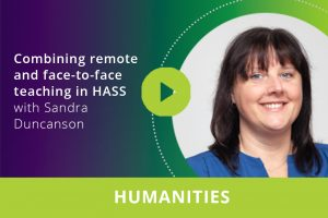 Combining remote and face-to-face teaching in HASS webinar thumbnail
