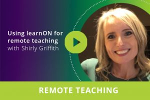 Using learnON for remote teaching webinar thumbnail