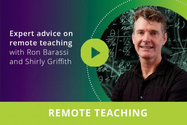 Expert advice on remote teaching webinar thumbnail