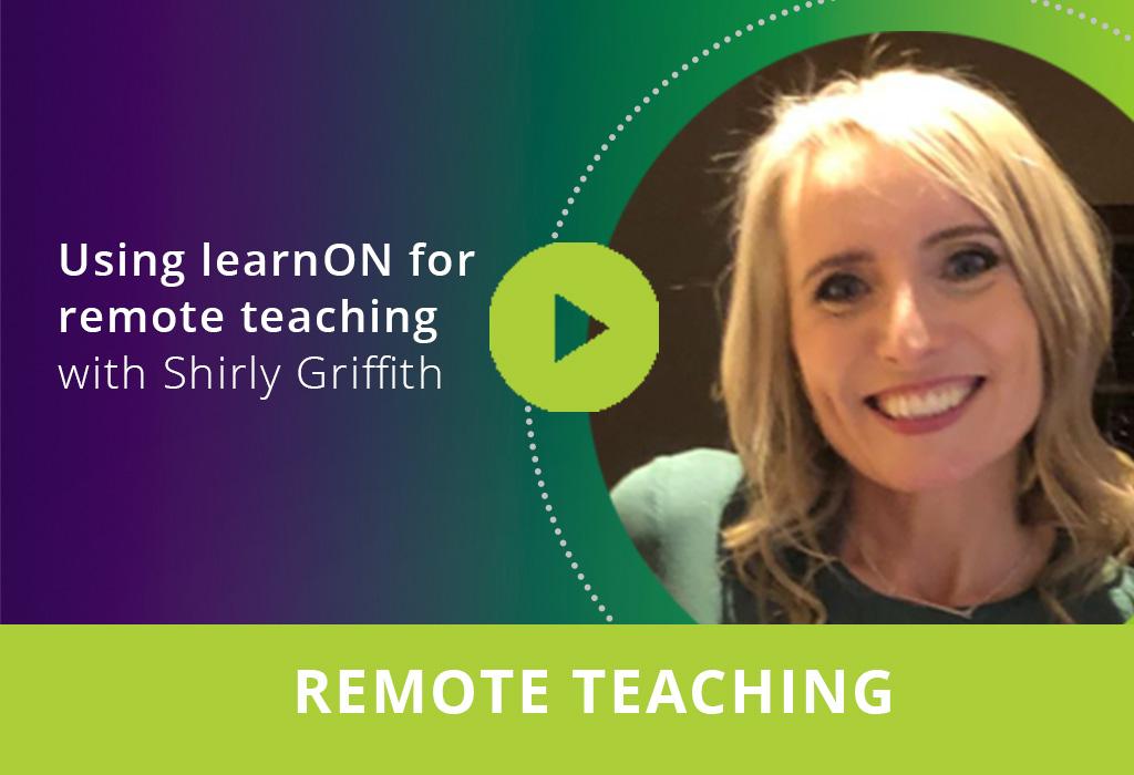 Using learnON for remote teaching webinar thumbnail