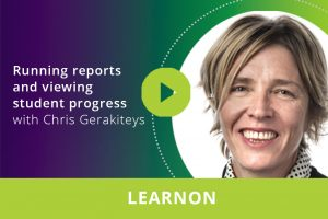 Running reports and viewing student progress webinar thumbnail