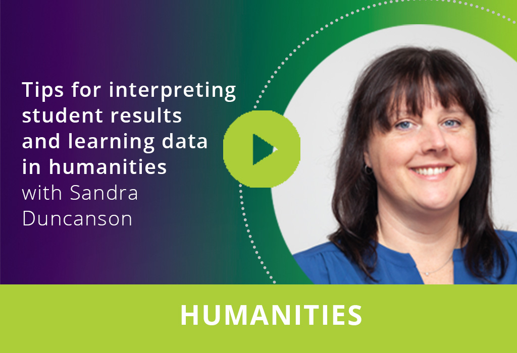 Tips for interpreting student results and learning data in humanities webinar thumbnail