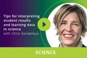 Tips for interpreting student results and learning data in science webinar thumbnail