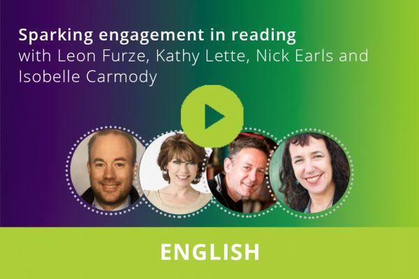 Sparking engagement in reading webinar thumbnail
