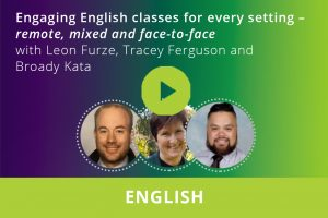 Engaging English classes for every setting Webinar thumbnail