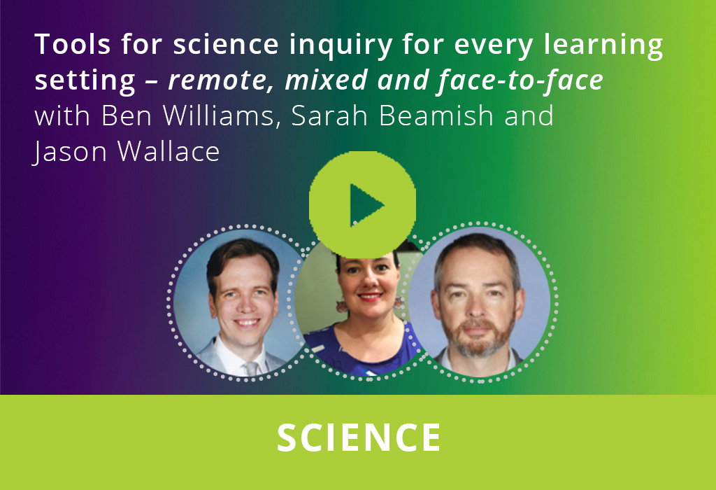 Tools for science inquiry for every learning setting webinar thumbnail